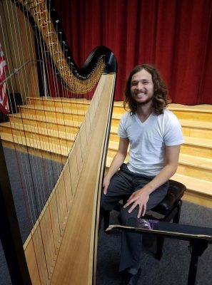 Alumnus shares love of harp